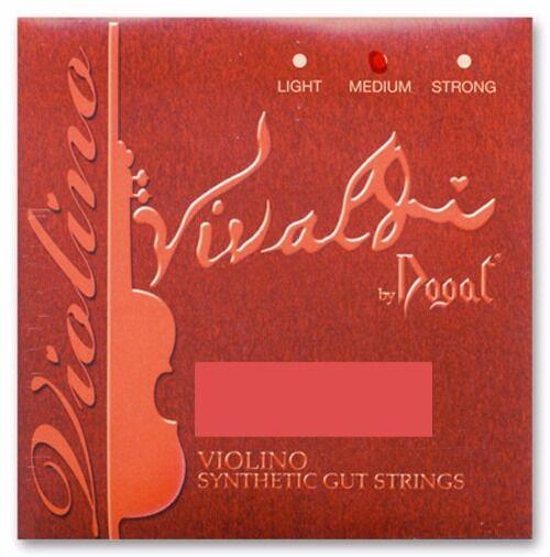 Dogal Vivaldi Violin String Set 4/4 --Aluminum D