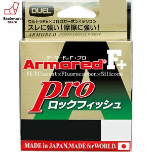 NEW-Duel-Armored-F-Pro-Rock-Fish-150m-25lb-1-5-Dark-Brown-0-210mm-Braid-Line