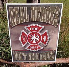 Home Decor Metal Sign Police Gift 106180013221 FARGO FIRE DEPT