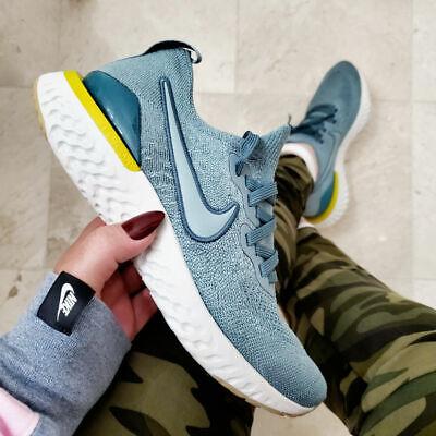 Tacón Fangoso heroico  Nike Epic React Flyknit 2 Aviator Grey Big Kid Women's Running Shoes AQ3243  005 | eBay