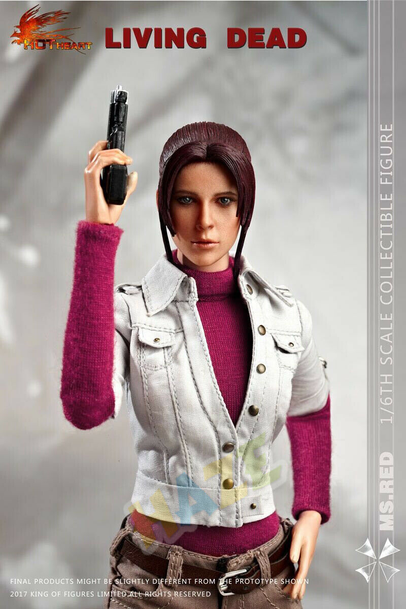 Hot Heart Resident Evil Degeneration Claire rotfield 1 6 Scale Action Figure