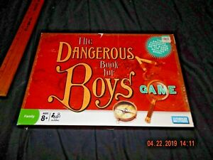 Details about PARKER BROTHERS / HASBRO THE DANGEROUS BOOK FOR BOYS BOARD  GAME - COMPLETE