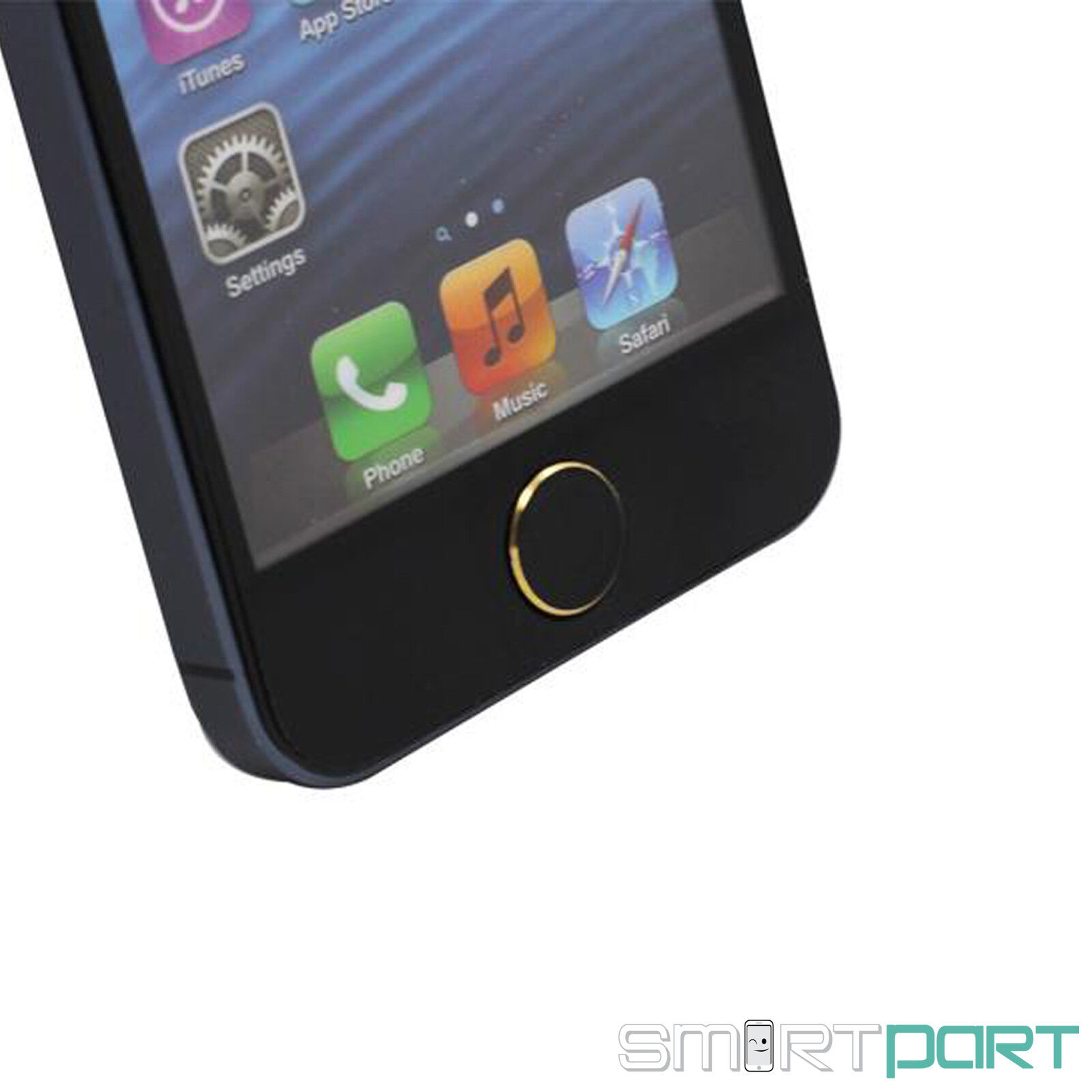 iphone 5 5c home button taste in iphone 5s optik design. Black Bedroom Furniture Sets. Home Design Ideas