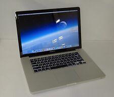 "Apple MacBook Pro Mid 2012 A1286 15.4"" Laptop i7-3615QM 2.3GHz 8GB 500GB Sierra"