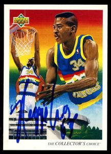 Reggie Williams #51 signed autograph auto 1992-93 Upper Deck Basketball Card