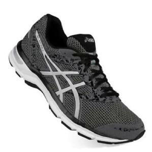 736b42aaa7007 ASICS GEL-Excite 4 Men's Wide Running Shoes Gray+Black Athletic ...