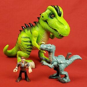Jurassic World Lot Dinosaurs and Owen Figures