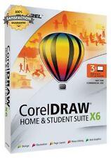 Coreldraw Casa estudiante Suite X6, hasta 3 usuarios PC