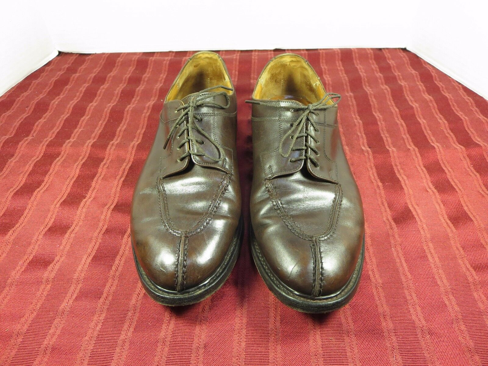 To Boot Leather Split Toe Dress Oxford Shoes Men England Size 10 Made in England Men Vintage 476c68
