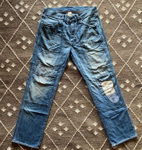 Rugby Ralph Lauren Jeans Patched and Repaired Deni