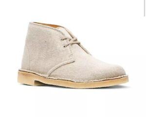 Clarks Womens Desert Boot Natural