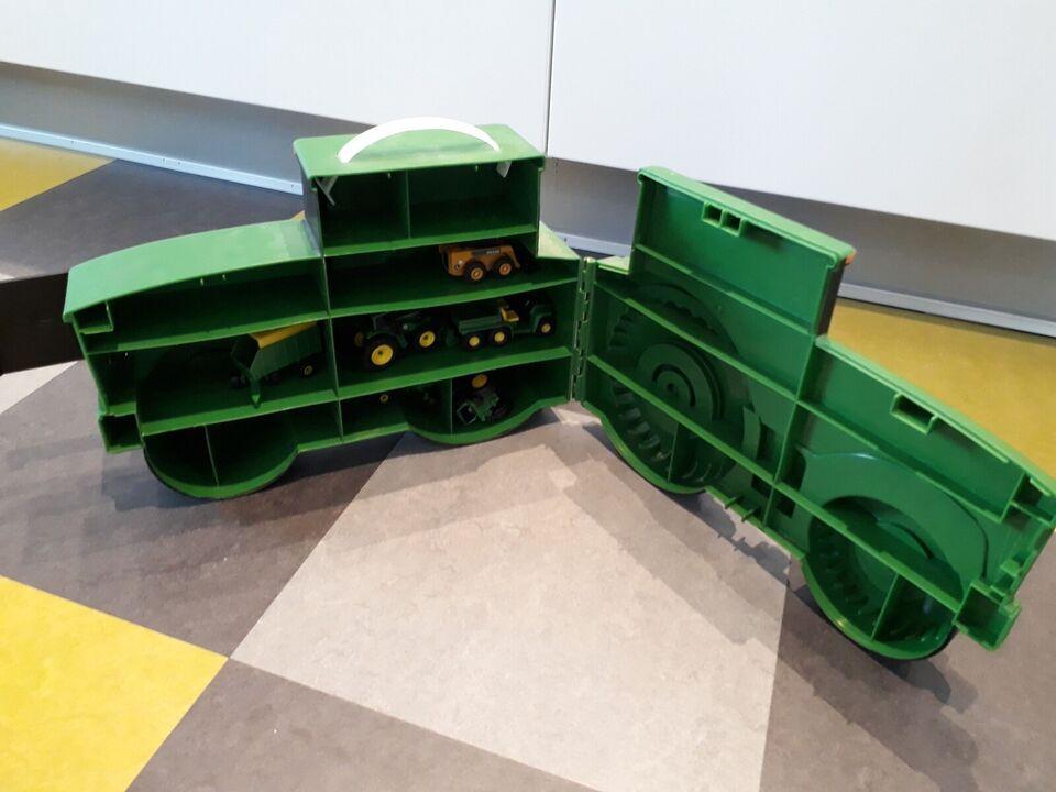 Traktor, Traktor med indhold medfølger