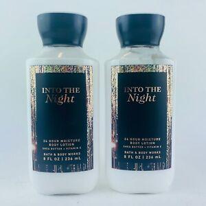 2-Bottiglie-Bath-amp-Body-Works-Into-The-Notte-Super-Liscio-Corpo-Lozione-8-Fl-oz