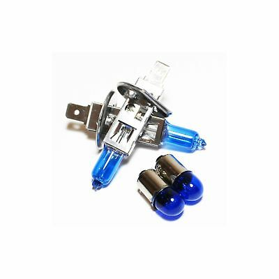 Vauxhall Combo MK2 100w Super White Xenon HID Low//Side Headlight Bulbs Set