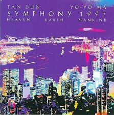 Tan Dun:  Symphony 1997 (Heaven    Earth   Mankind); Ian Dunn, Yo Yo Ma 1997 CD,