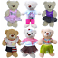 PINK PURPLE TUTU 16 inch//40cm TEDDY CLOTHES HAWAII USA ICE CREAM BEACH
