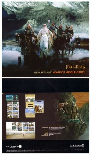 NEW ZEALAND • 2004 • Lord of the Rings • Home of Middle-Earth