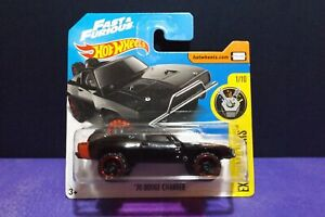 2016 HOT WHEELS FAST /& FURIOUS #4//365 EXPERIMOTORS 1//10 /'70 DODGE CHARGER 1:64