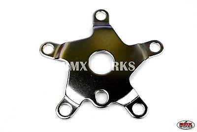 Old School BMX Style ProMX Retro Alloy BMX Spider 110BCD Black