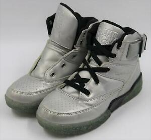 Ewing-Athletics-33-Kids-Boys-Casual-Athletic-Silver-Sneakers-Shoes-Size-3