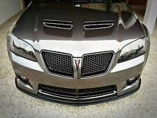 "2008-2009 Pontiac G8 GT Front Bumper Lip Air Splitter ABS Plastic 1/4"""
