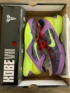 los angeles f3635 092e6 Image is loading Nike-Zoom-Kobe-VII-7-Supreme-Cheetah-Christmas-