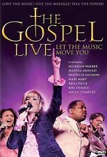 Gospel Live: Let the Music Move You (DVD, 2006) Disc Only-Free Shipping