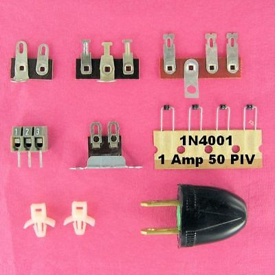 Component Wiring Chis Tie Strips, 2 & 3 Lug Posts AC Plug ... on