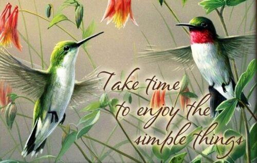 Humming Bird Simple Things  Refrigerator Fridge Magnet Gift Item