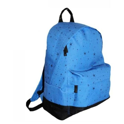Girls Ladies Star Print Design Backpack School College Work Travel Rucksack Bag