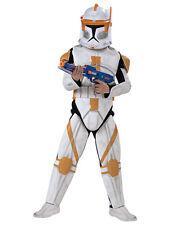 "Star Wars Men Clone Wars Trooper Cody Costume,Std,CHEST 44"",WAIST 30-34"",LEG 33"""