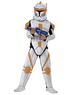"""Abile Gli Uomini Di Star Wars Clone Wars Trooper Cody Costume, Std, Circonferenza Petto 44"""", Girovita 30-34"""",leg 33""""-est 44"""",waist 30-34"""",leg 33"""" It-it Mostra Il Titolo Originale Famoso Per Materiali Selezionati, Disegni Innov"""