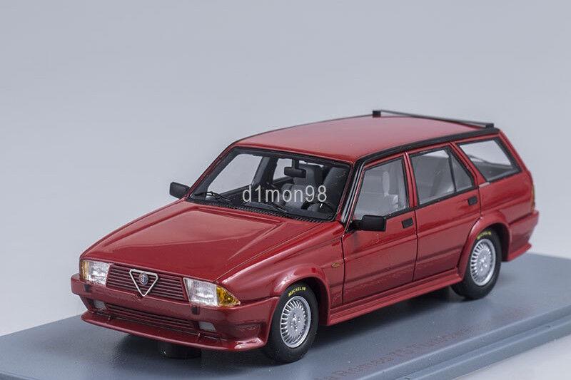 Alfa romeo 75 turbowagon neo - modellen 1 43 neo45045