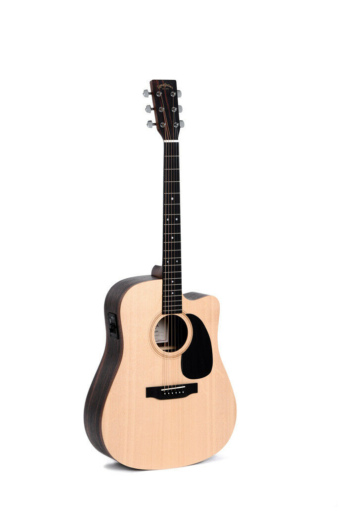 SIGMA Gitarre DECE+ B&Z Marcassar/Ebonyholz Dreadnought    AUSSTELLER