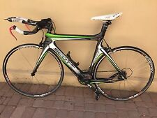 Scott Plasma 2 HMXnet TT Triathlon Composite Fiber 52cm Bike w SRAM RED