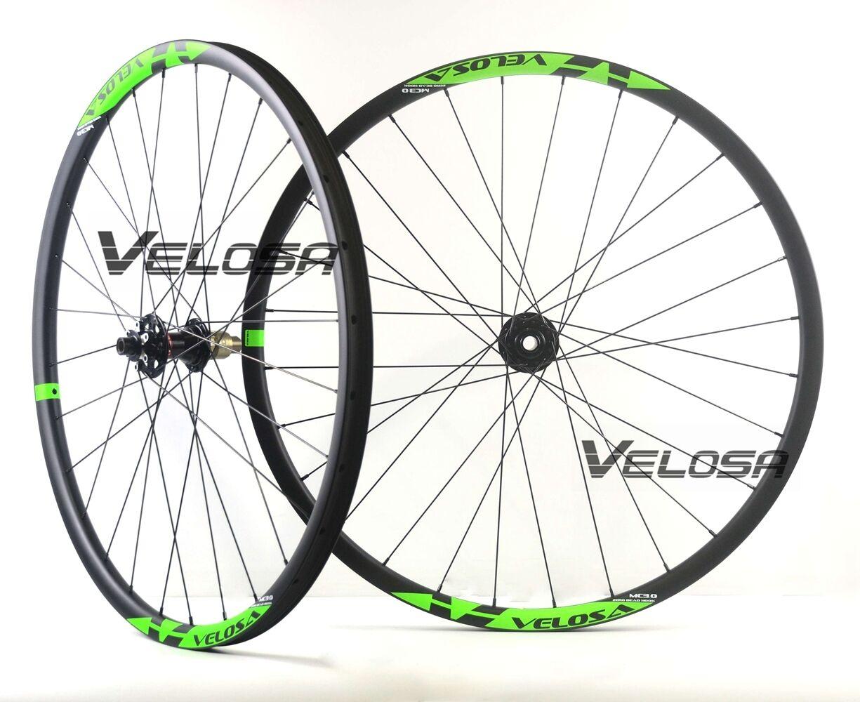Super light 29er MTB XC boost carbon wheels 29inch asymmetric MTB wheelset boost