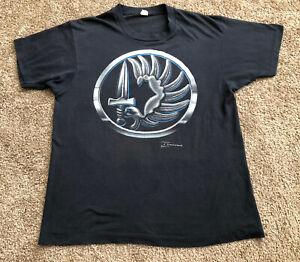 Vtg-1989-JRS-Enterprises-Sword-Arm-T-Shirt-Adult-Size-L-Large-Screen-Stars-thin