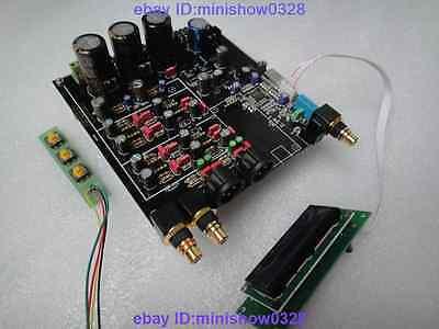 Assembled ES9018 DAC I2S 384K DSD XLR balanced can upgrade to remote control