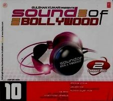 SOUND OF BOLLYWOOD 10 - NEW BOLLYWOOD SOUND TRACK 2CDs SET - FREE UK POST