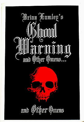 Brian Lumley's GHOUL WARNING and Other Omens..& Other Omens, tr. pb 1st Am SALE!