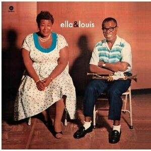 Ella-Fitzgerald-Ella-Fitzgerald-amp-Louis-Armstrong-New-Vinyl-180-Gram