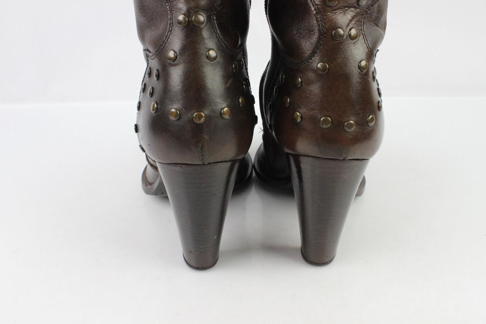 Stiefel FLAYER Leder Nietenbesetzt braun t 37 37 37 seht guter Zustand  | Kostengünstig  c99255
