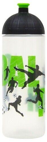 Fußball 0,7L auslaufsicher Kohlensäure gee ISYbe Sport-Trinkflasche BPA-frei