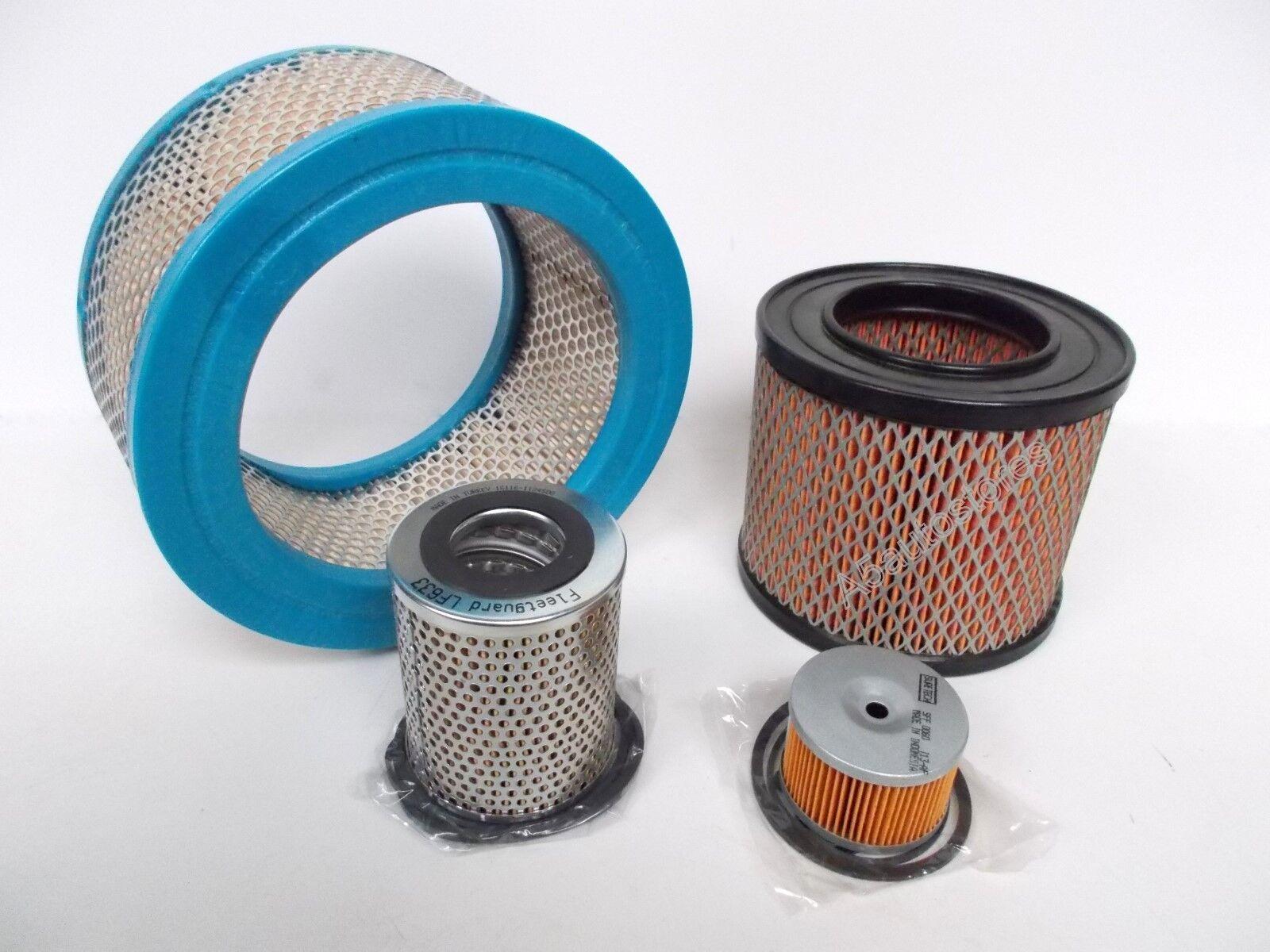 Filter Kit for Lister Petter LD engines - oil filter, fuel filter & air filter