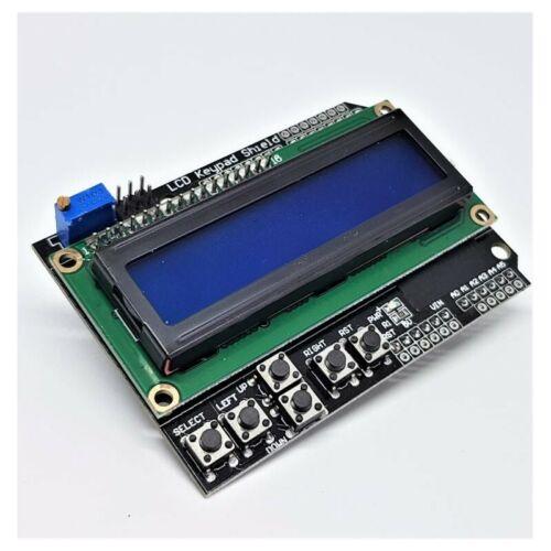 LCD Keypad Shield LCD1602 LCD 1602 Module Display For Arduino ATMEGA328 ATMEGA25