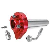 Gasgriff Kurzhub Kurzhubgasgriff Rot Roller Quad ATV mit 22mm Lenkerdurchmesser