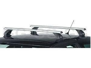 Aluminium Aero Roof Rack Bars Lockable Vauxhall Zafira