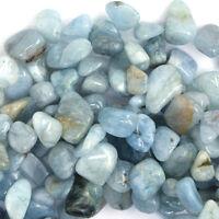 "8-12mm blue aquamarine freeform nugget beads 15"" strand"
