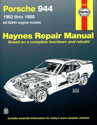 Repair Manual-S Haynes 80035 fits 86-87 Porsche 944