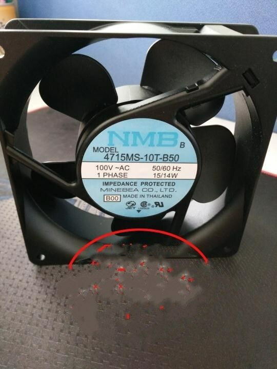 1pcs NMB 12038 100V 4715MS-10T-B50 Fan